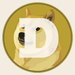 Dogecoin logo square