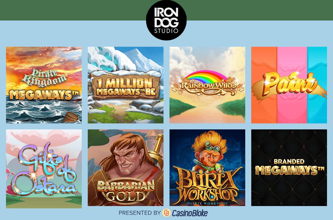 Iron Dog Studio games selection