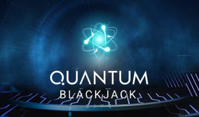 Playtech Live Quantum Blackjack logo big