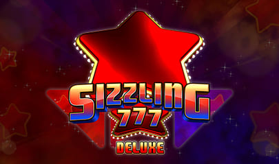 Sizzling 777 Deluxe logo big
