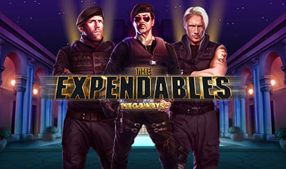 The Expandables Megaways logo big