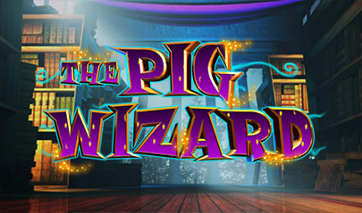 The Pig Wizard Megaways logo big