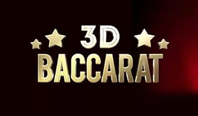 3D Baccarat logo big