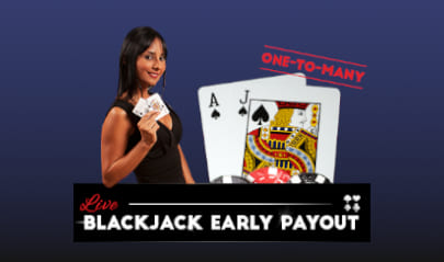 ViG Live Blackjack Early Payout logo big