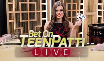 Ezugi Bet on Teen Patti logo big