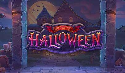 Hot Hot Halloween Slot logo big