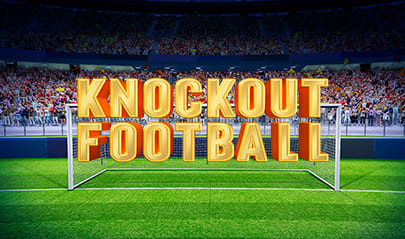 Knockout Football Slot logo big