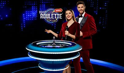 Pragmatic Play Mega Roulette logo big