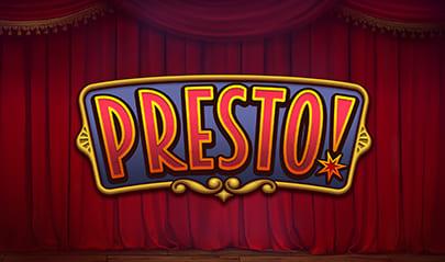 Presto! Slot logo big