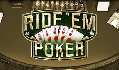 Ride'em Poker logo big