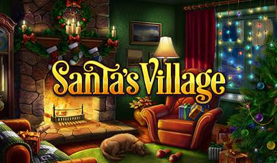 Santa's Village Slot logo big