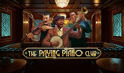 The Paying Piano Club logo big