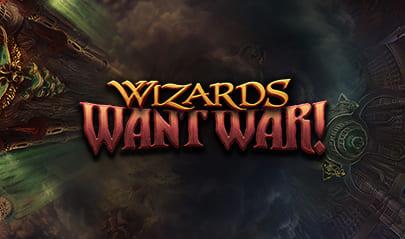 Wizards Want War Slot logo big