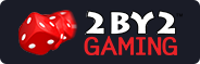 2BY2 Gaming logo rectangle