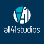 All41Studios logo square