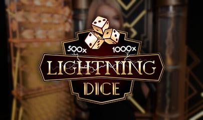 Evolution Live Lightning Dice logo big