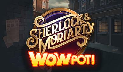 Sherlock and Moriarty WOWPot logo big