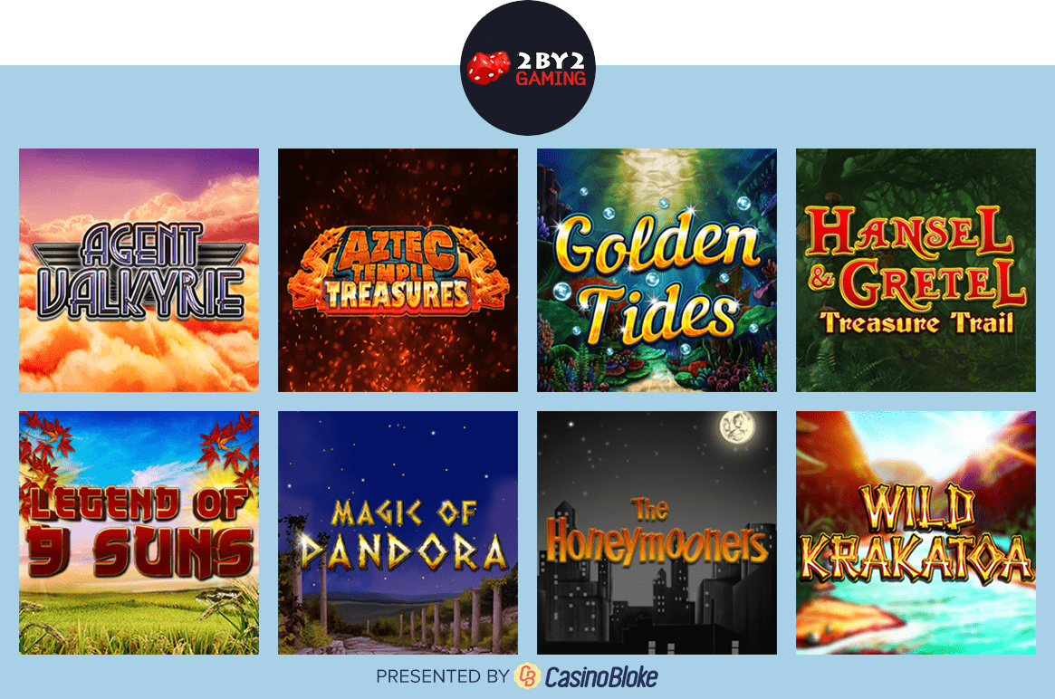 2 By 2 Gaming slots selection