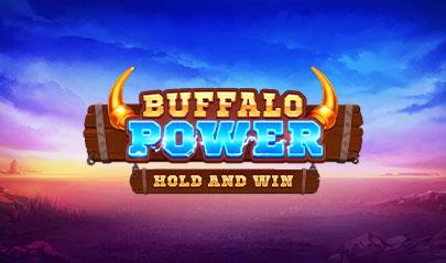 Buffalo Power Hold and Win logo big