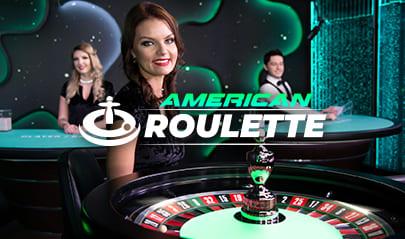 Live American Roulette logo big