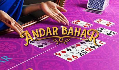 Playtech Live Andar Bahar logo big