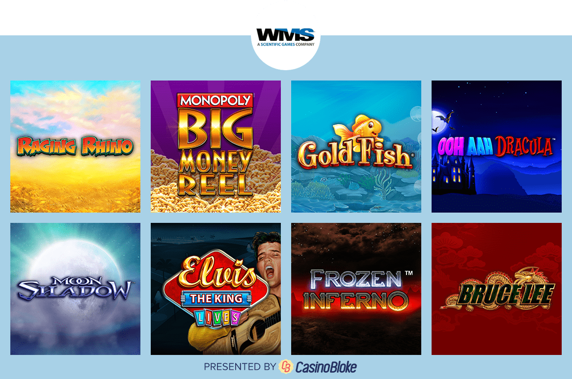 Williams Gaming featured games