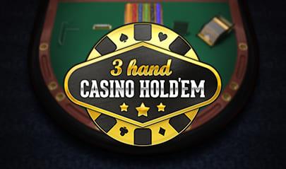 3 Hand Casino Hold'em logo big