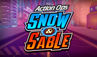 Action Ops Snow & Sable logo big