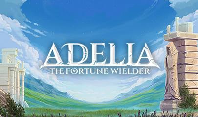 Adelia The Fortune Wielder logo big