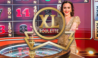 Authentic Gaming XL Roulette logo big