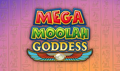 Mega Moolah Goddess logo big
