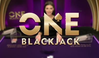 Pragmatic Play ONE Blackjack logo big