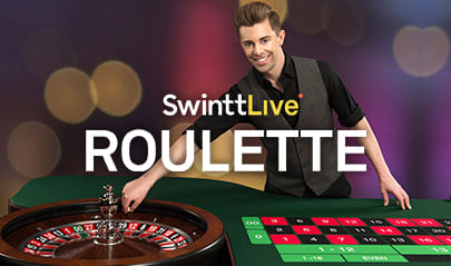 Swintt Live Roulette logo big