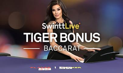 Swintt Live Tiger Bonus Baccarat logo big