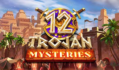 12 Trojan Mysteries logo big