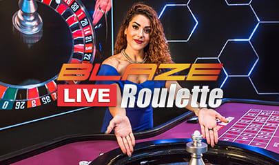 Authentic Gaming Blaze Live Roulette logo big