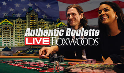 Authentic Gaming Foxwoods Casino Roulette logo big