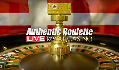 Authentic Gaming Royal Casino Roulette logo big