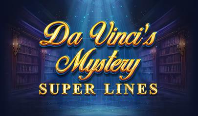 Da Vinci's Mystery Super Lines logo big