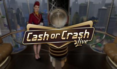 Evolution Cash or Crash Live logo big