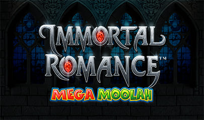 Immortal Romance Mega Moolah logo big
