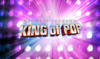 Michael Jackson King of Pop logo big
