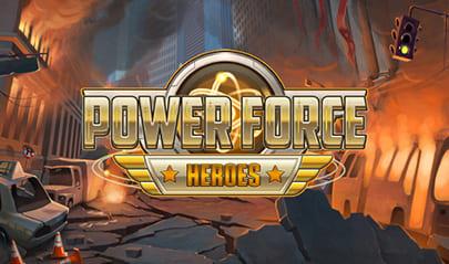 Power Force Heroes logo big
