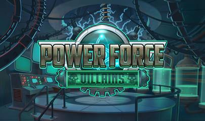 Power Force Villains logo big