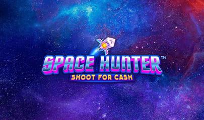Space Hunter Shoot for Cash logo big