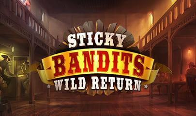Sticky Bandits Wild Return logo big