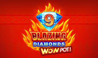 9 Blazing Diamonds WowPot logo big