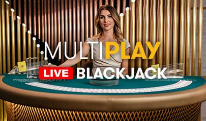 Authentic Gaming MultiPlay Blackjack logo big