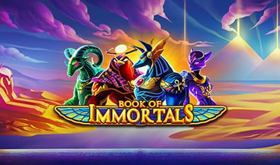 Book of Immortals logo big