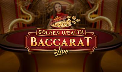 Evolution Golden Wealth Baccarat logo big